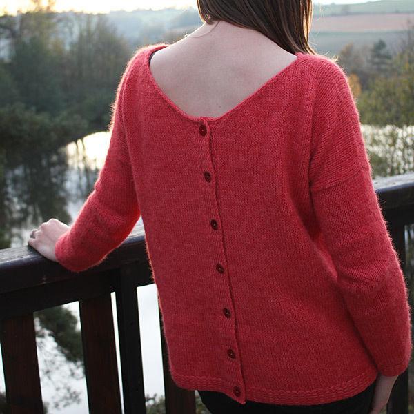 Knitting Lovely Cover-Up For Little Girls