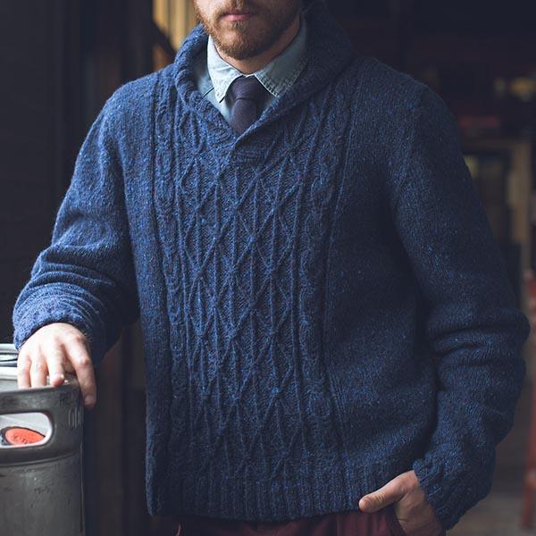 Jumper Knitting Pattern For Men